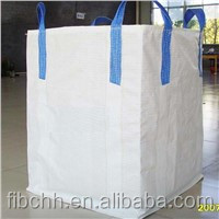 100% polypropylene conductive pp woven big bag, FIBC, jumbo bag ton bagfor talcum powder low price by manufactuer in shangdong