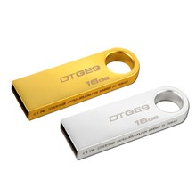 16GB Wholesale Silver Metal USB2.0/3.0 Flash Pendrive Memory Disk Custom logo Low price