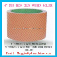 6 Inch NBR white rice mill rubber roller,rice husker rubber roll