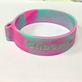 Custom mold design Silicon Wristband Keychain silicone holder bracelet  Scale Supplies China