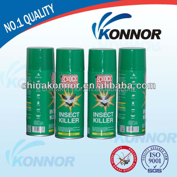 300ML Pyrethrin aerosol Insecticide Spray Kills Mosquitoes off