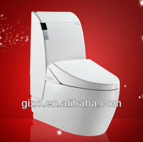High Tech Fully Auto Toilet With Remote Control