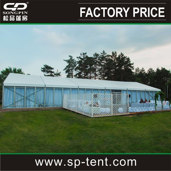 300 People Luxury Wedding Tent for outdoor wedding party celebration event