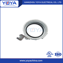 Malleable iron insulated grounding conduit bushing