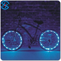 LED Cycling Bike Flash Tire Lighting Silicone Bicycle Wheel LED Light