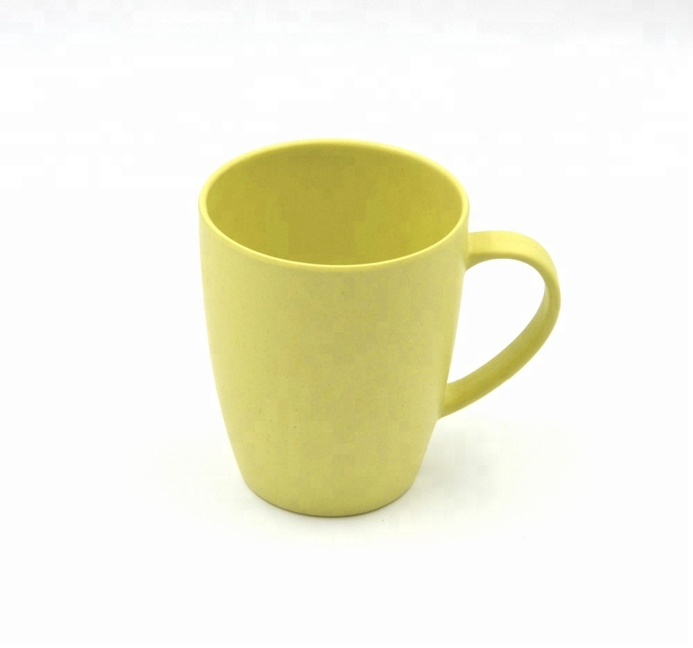 100% <strong>Natural</strong> Plant Bamboo Mug With Handle