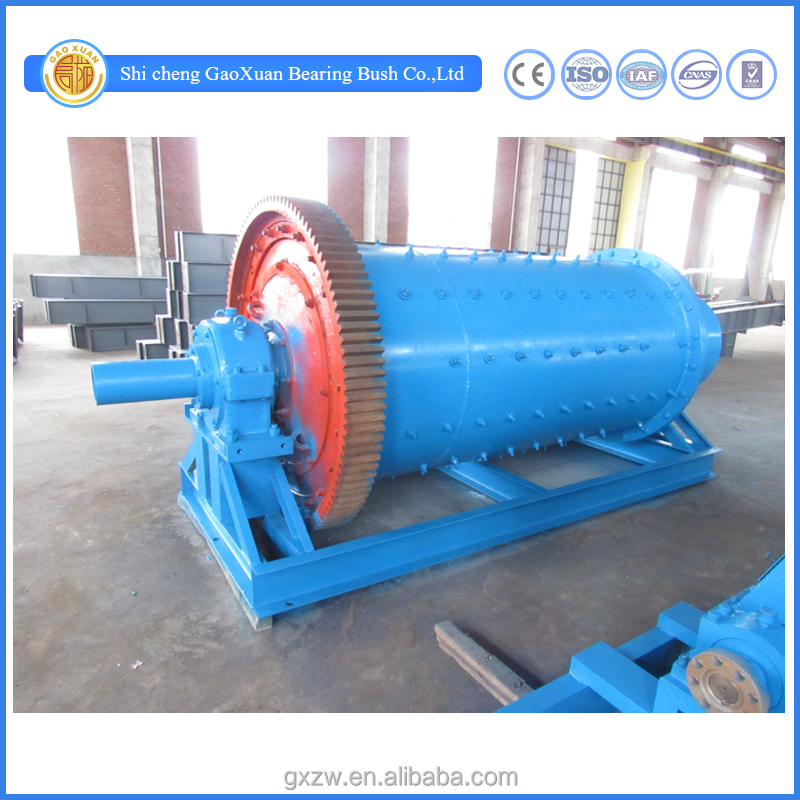 Ball mill grinding machine, grinding crushed mineral particles to powder ball mill