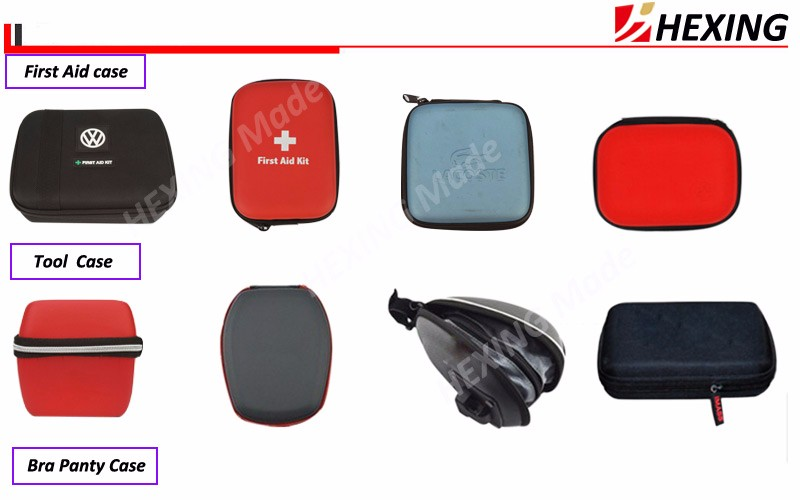 New arrival factory price oem custom eva earbud carrying case