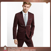 Wool 140s bespoke top brand latest design men's coat pant designs wedding suit