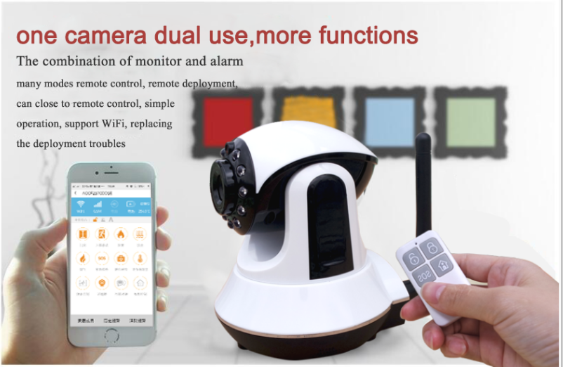 wifi 3g/gsm/gprs alarm ssytem 315/433/868mhz wirless home security alarm system