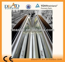 Handrail Escalator China Escalator Manufacturers with Insert Roller Step Chain
