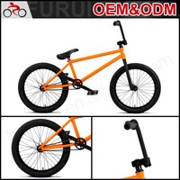 "Factory direct sale 20"" bmx cheap racing bike"