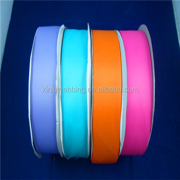top quality of satin ribbon with colorful