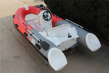 Hypalon pontoon best rib boats RIB-390 with console and steering for sale!!!