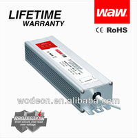5v 12v 24v 48v 150w waterproof LED driver with CE ROHS approved