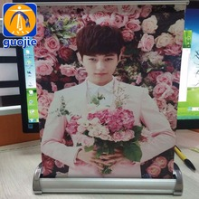 Promotional Mini A3 Size Desk Roll Up Banner Display