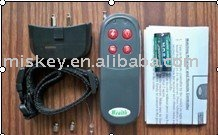 Remote control electric shock bark stop