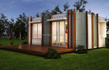 In 2016 Germany 40 feet 20 feet container house sale now