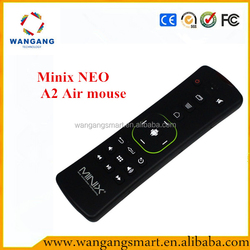 Minix NEO A2 air mouse with Micphone Speaker Six-axis Gyroscope & Accelerometer air fly mouse mini wireless keyboard air mouse