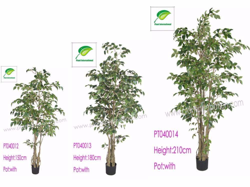 artificial classic ficus trees outdoor/home decoration