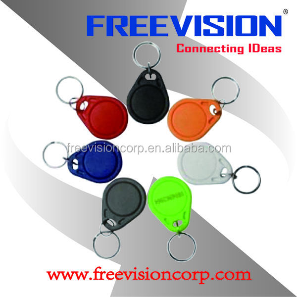 offset printing passive rfid proximity epoxy key tag for access control
