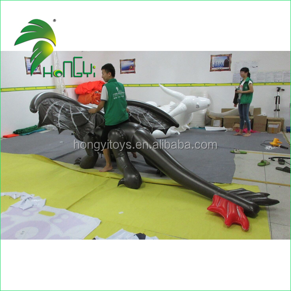 Inflatable animal costumes / inflatable toothless dragon costume