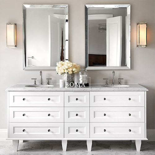 BOMA 72 Inch Bathroom Vanity / Custom Bathroom Vanity / Solid Wood Bathroom Cabinet