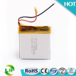 3.7V 2500mah 705456 Oem Lithium ion Polymer Battery Manufacture