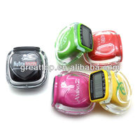 high quality nice multifunctional digital pedometer with cover for promotion