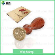 Antique Metal Sealing Wax Stamp Set