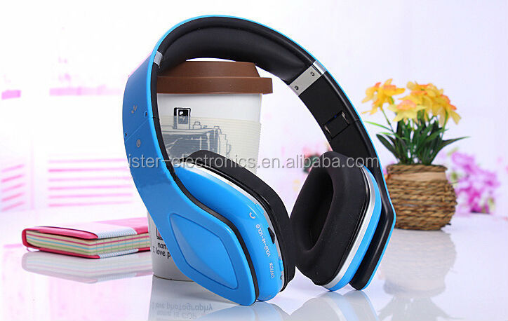 smart headphones with bluetooth and micro sd card slot & fm stereo bluetooth headphones/headset
