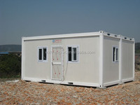 Excellent export packing cheap price portable container house prefab shipping container house for sale