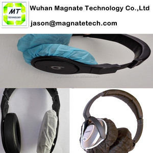 Simply Stretch The Hygenic Covers Over The Ear Cups