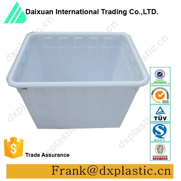 Chinese supplier 120 litre plastic fish tank/container for transport