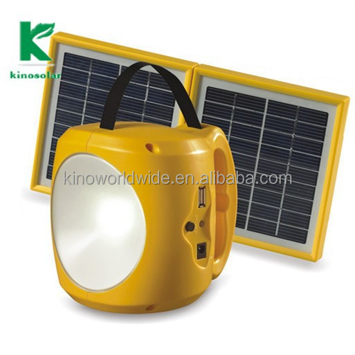 mini solar light kits SMF battery goverment project, solar light SMF battery built in for camping and our door use