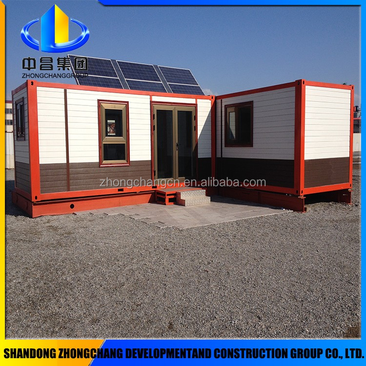 hot china container house