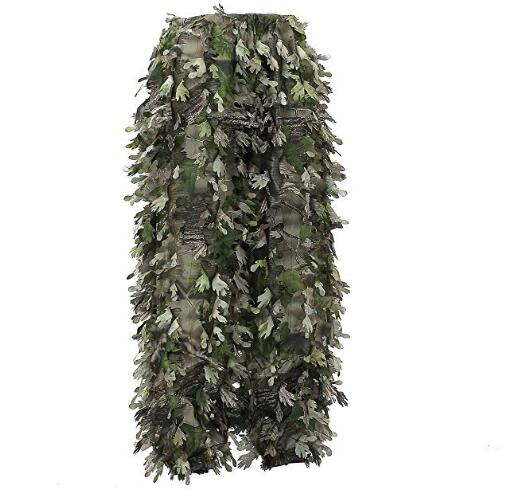 2019 3D Leaf Hunting Ghillie suit