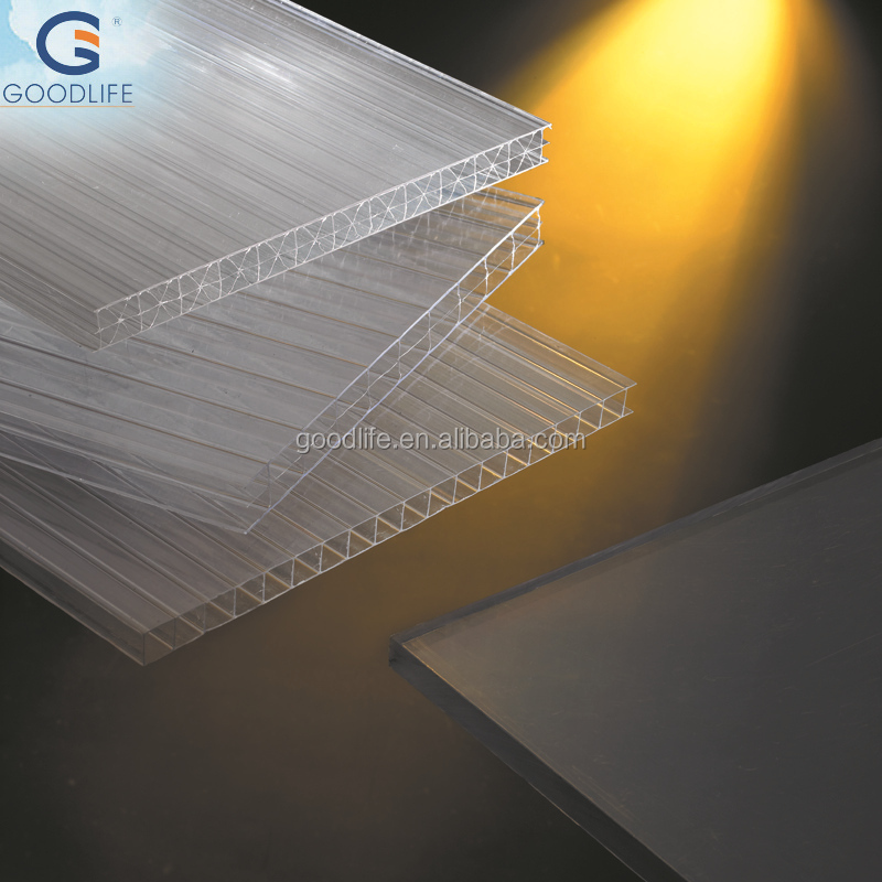 roofing using high quality prismatic plastic sheet with top quality