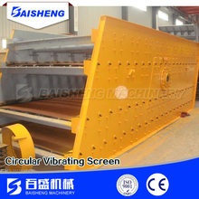 supply YA type circular heavy vibrating screen for sand,stone crush and coal