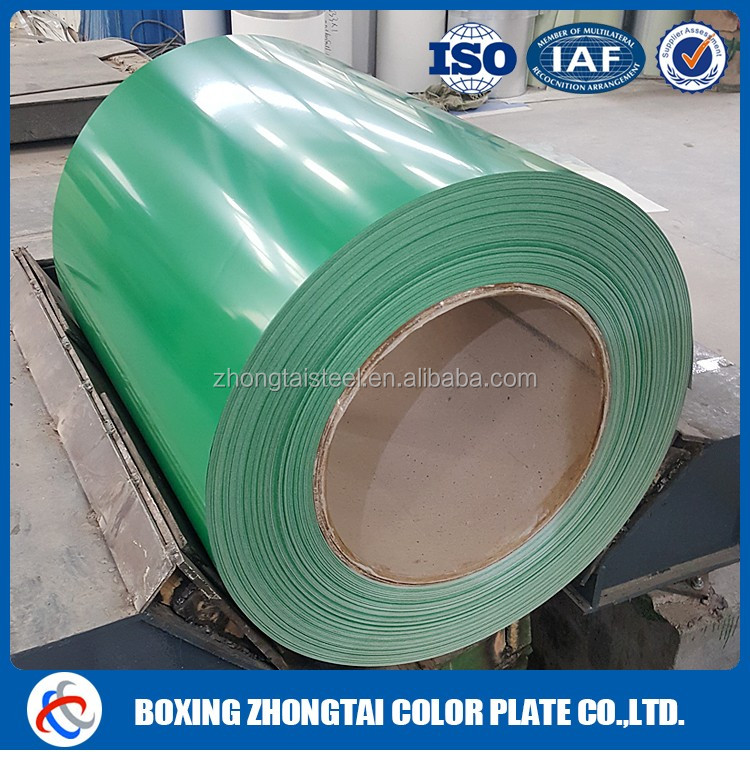 Flexible building materials color coated galvanized roof decking PPGI& GI color steel coil/printing materials