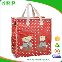 design customized top quality reusable new shopping bag with zipper