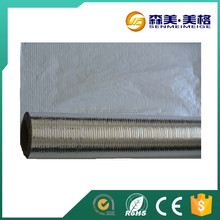 reflective fabric foil/double-sided reflective aluminum foil insulation/laminated polypropylene non-woven fabric