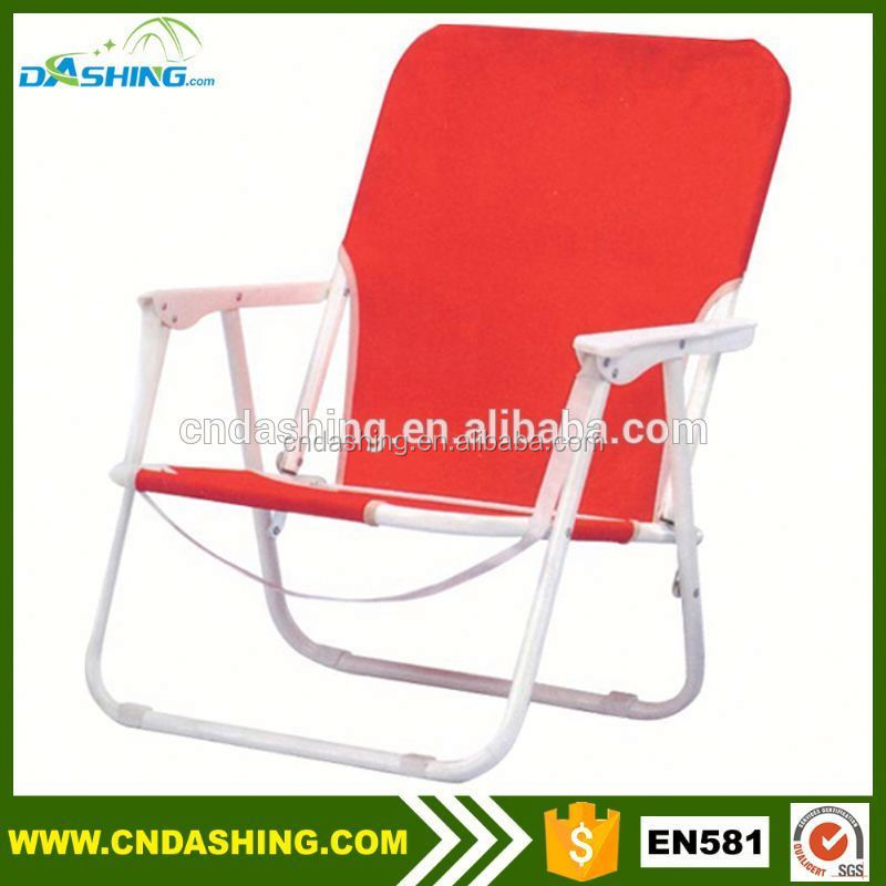 Promotional tom-my bah-ama style beach chairs folding low seat beach camped chair