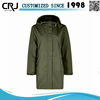 Custom Cotton Winter Windbreaker Jacket for Women 2015
