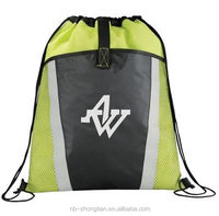 High quality promotion Drawstring bag, shopping bag with logo printing