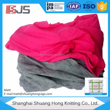 Colour cotton New rags wiping manufacturers recycled t shirts