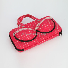 2014 fashionable pretty Portable bra carrying case