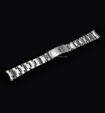 OEM 20mm oyster Stainless Steel Watch Band Bracelet flat end watch strap