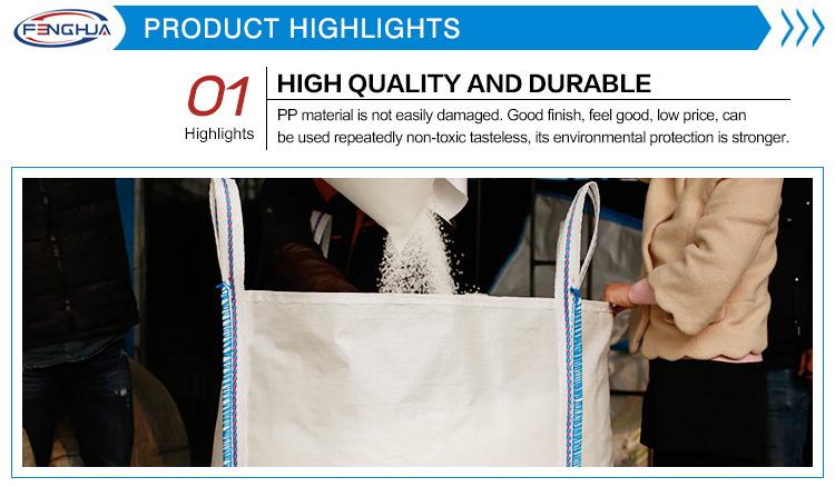 Высокое качество белый мкр tote 1 тонны подушки оптом