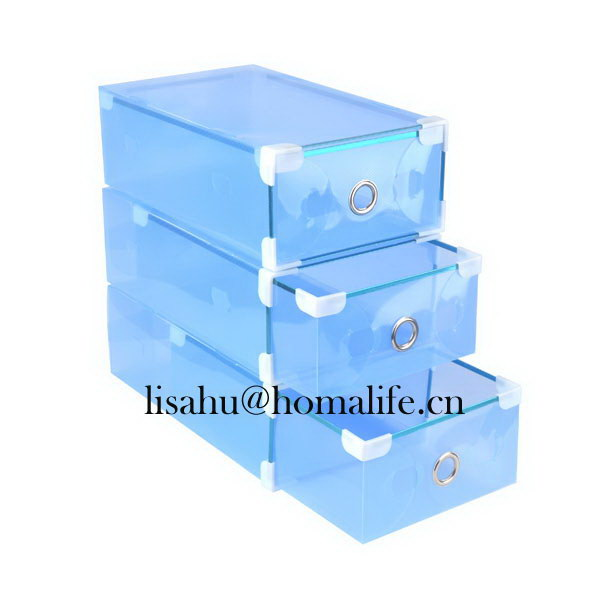 Clear yifeng shoe box for office
